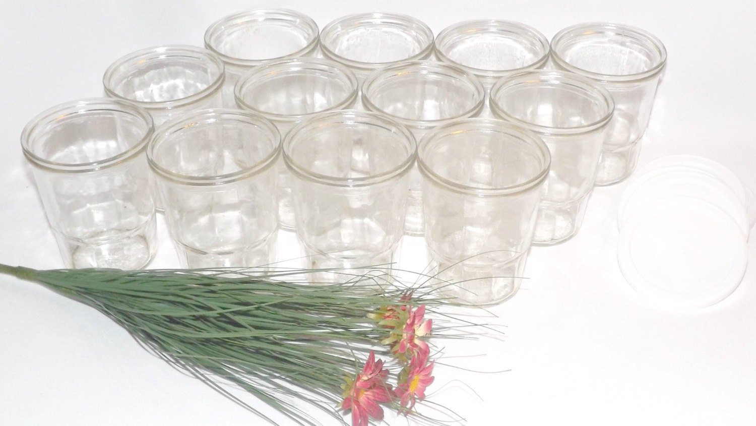 Ball Jelly Jars Glasses Case 12 New Old Stock By Selectivities