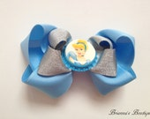 Disney Cinderella Inspired Stacked Boutique Bow
