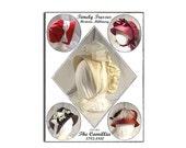 Timely Tresses Jane Austen/Regency Style Bonnet Pattern: Camillia, 1795 -1810