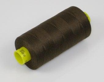 Sewing Thread, Seal  Brown 222 Gutermann Superior Sewing Thread on 1094 Yard Spool
