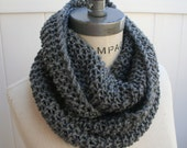 Chain Scarf Grey Knit Infinity Scarf  Most Popular Item Best selling Items - By PIYOYO - PIYOYO