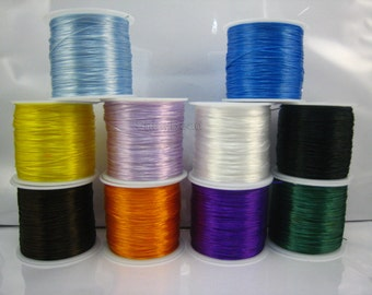 strong and stretchy elastic wire,1 spool