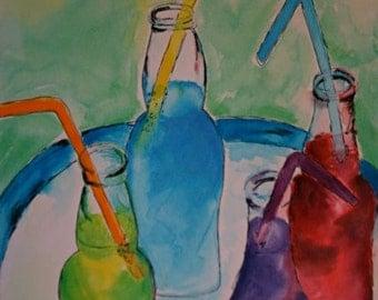 Soda Pop Watercolor