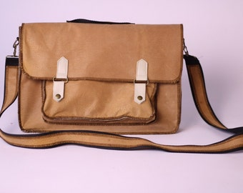 Hand made leather laptop case sleeve bag for Macbook Pro Air 11'' 13''