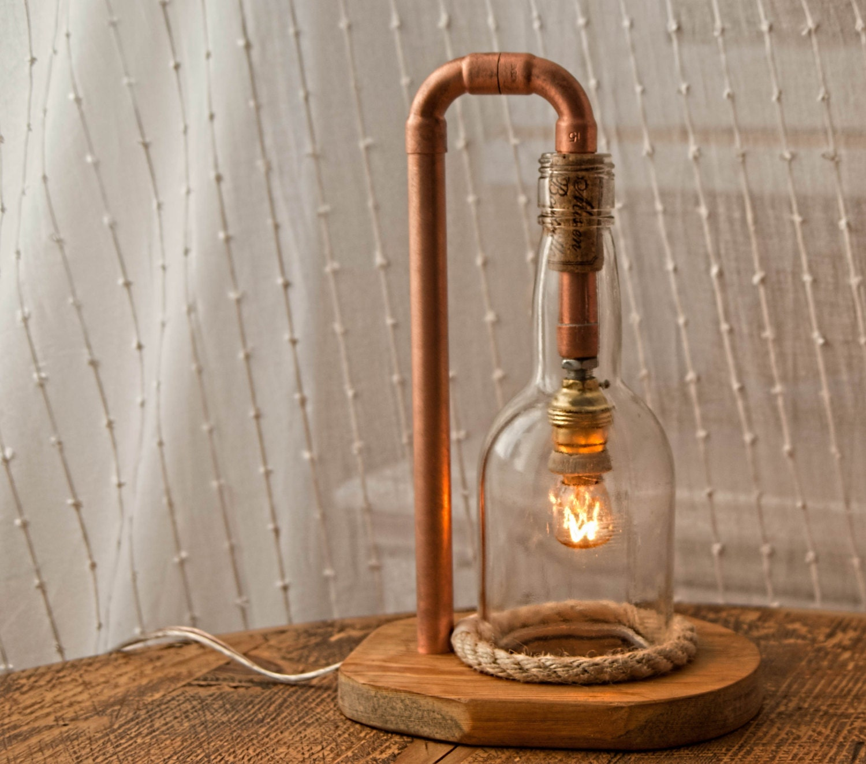 Diy Glass Bottle Lamp