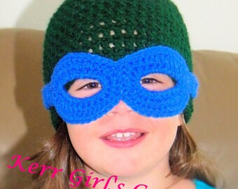Free Crochet Pattern For Ninja Turtle Hat With Mask : Popular items for ninja turtle hat on Etsy