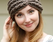 Natural Beauty Crocheted Headband in your CHOICE of colors from BglorifiedBoutique - BglorifiedBoutique