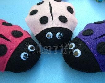 Handmade Ladybug Tooth Fairy Pillow