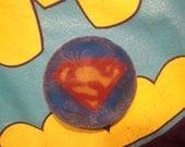Superman Handcarved Soap