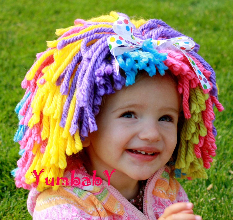kid clown wig 70 halloween costumes