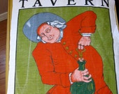 Vintage Williamsburg Collectors Chownings Tavern Kitchen Towel