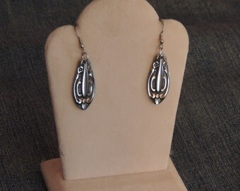 Vintage Flatware Earrings