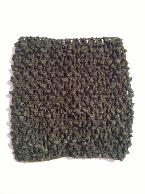 Olive Green 5.5'' Crochet Tube Top for Tutu Dresses