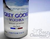 Grey Goose Ornament-- Grey Goose Vodka Themed Christmas Tree Ornament.