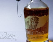 Buffalo Trace Ornament-- Bourbon Whiskey Themed Christmas Tree Ornament.