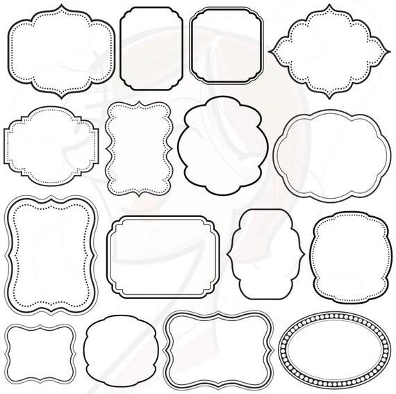 Digital Scrapbooking Frames Clipart Clip Art by ...