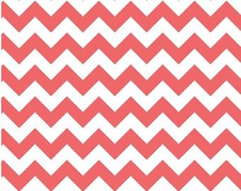 Medium Chevron Rouge  by Riley Blake Designs Half Yard Cut