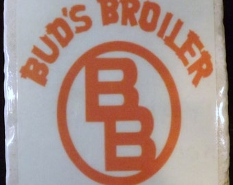 Bud's Broiler New Orleans Coaster