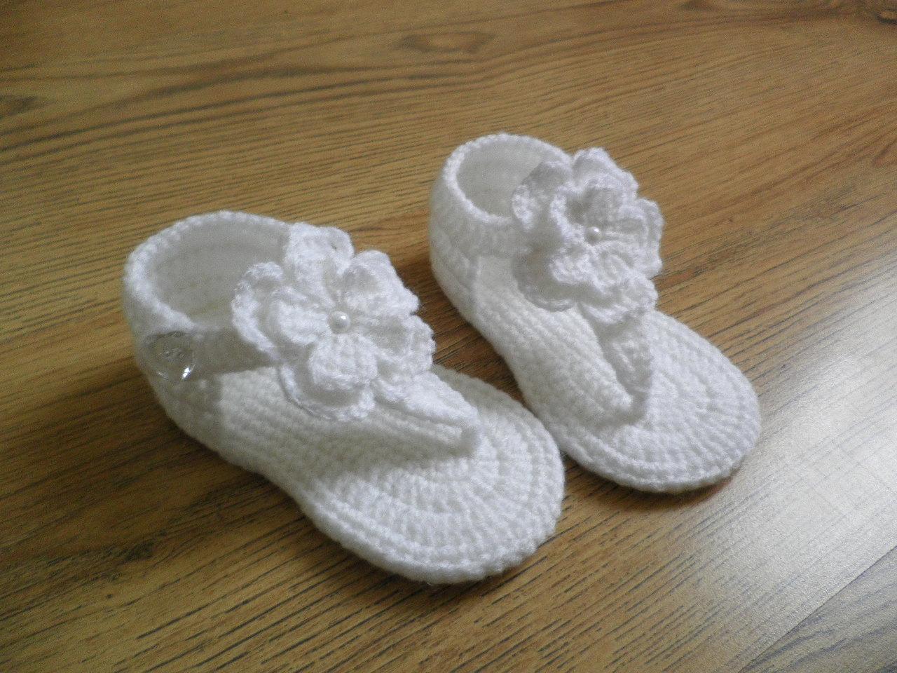 Crochet Baby Sandals Baby Gladiator Sandals Baby Booties