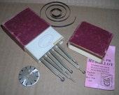 Antique Watchmakers Tools....Pforzheim . Germany.......Antique Tools ......Jewelry Makers Tools .....LT1