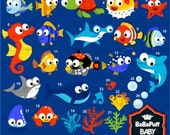 Buy 2 Get 2 Free ---- Tropical Sea Animals ---- Personal and Small Commercial Use ---- BB 0349
