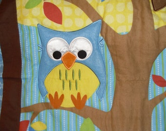 Owls In a Tree Quilt