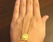 Gold filigree Slave Bracelet