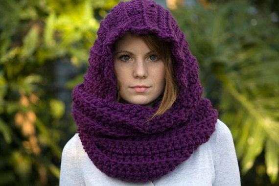 Capucha bufanda crochet - Imagui