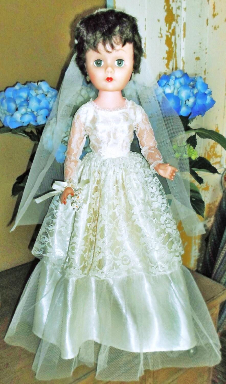 Vintage 24 Bonnie Bride Doll Allied Grand Doll Mfg Co