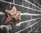 Chicago Star urban photography print - wall decor