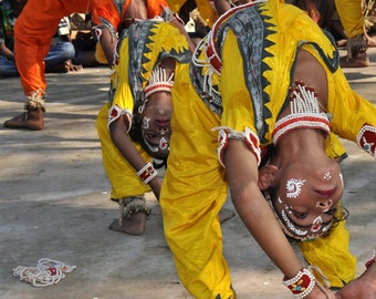 Photograph of Odissi Dancers, Odisha India
