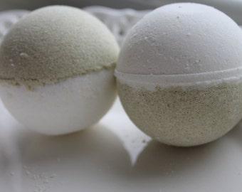 Rosemary Bath Bomb - Rejuvenate sore muscles - Set of 2