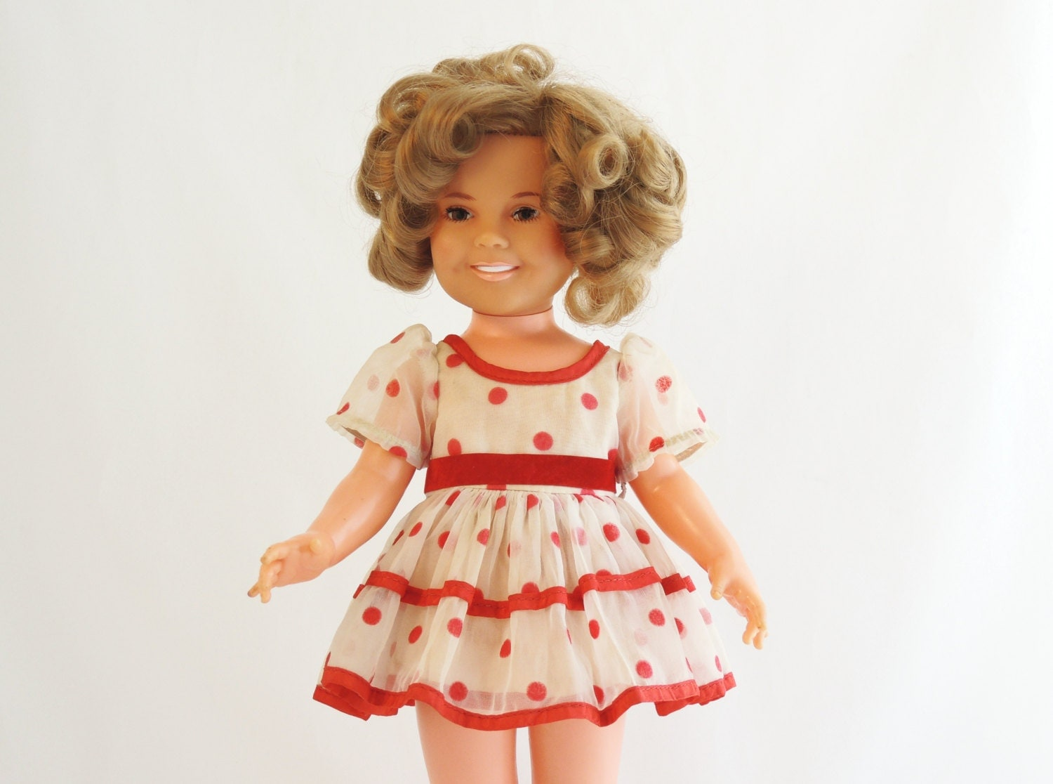 Shirley Temple Doll Ideal Toy Corp 1972 By Lalindaartstudio