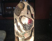 Leopard Fashion- Wine
