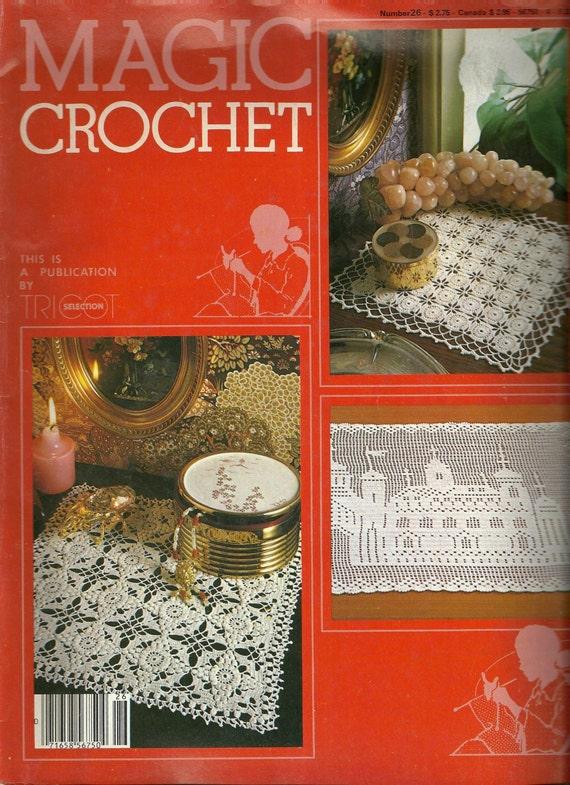 Magic Crochet Magazine, Thread crochet patterns, vintage crochet ...