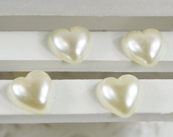 Heart Embellishments for Scrapbooking,Layouts,Mini Albums,Altered Art,Craft Projects,Hairbows,Flower Centers