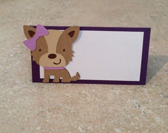 Puppy Love Place Cards
