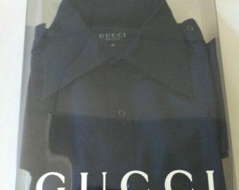 Gucci navy shirt