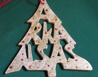 Aarkansas ornament, tree shaped