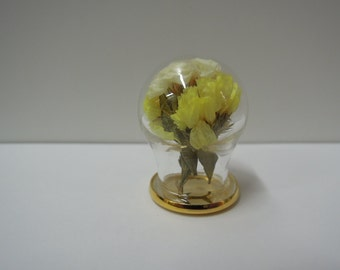 Miniature Glass Dome for 1:12 Dollhouse