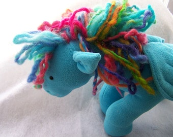 Custom Horse - Pony - Unicorn - Pegasus - Pegacorn Plush Toy