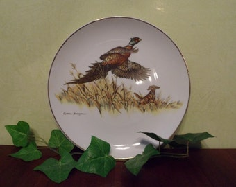 Clark Bronson Limited Edition Ring-Neck Pheasant Collectors Plate