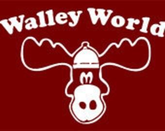 80s MOVIE Tshirt  vaction walley world T-shirt  funny tshirt cool tshirt mens women's kids tshirt (Also available on crewnecks and hoodies)