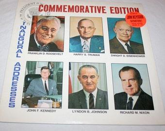 Commemorative Edition to Elect Jim Keysor Senator/Presidential Inaugural Addresses Election Year Memorabilia! Political History Recording