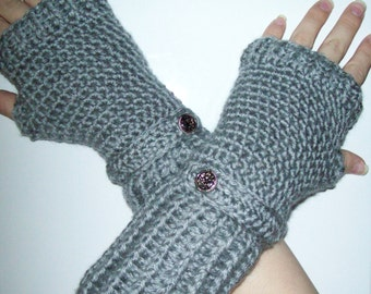 CROCHET PATTERN: Fingerless Gloves - Permission to sell finished items - instant download