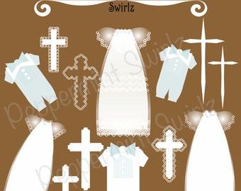 Baptism/Christening Clip Art