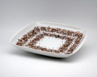 "Bjørn Wiinblad ""Baumann"" porcelain dish (Rosenthal)"