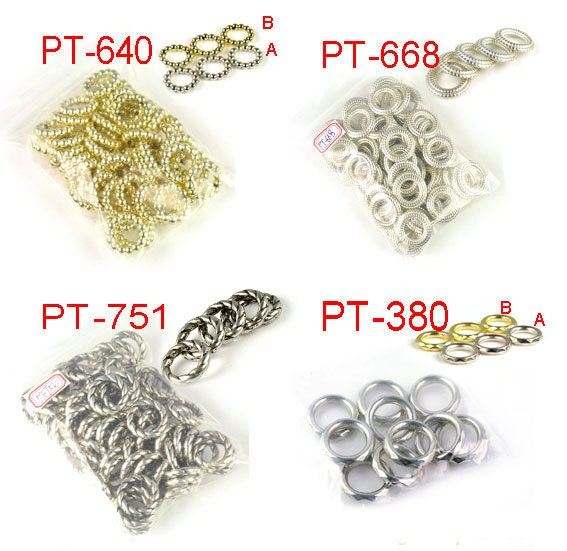 Round scarf rings 4 designs DIY jewelry findings jewelry scarves  Scarves With Jewelry Patterns