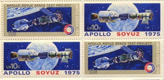apollo soyuz space test project stamp - photo #1