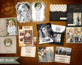 High School Senior Graduation Announcement Bundle - Best Sellers